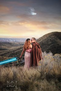 engagement photos star wars engagement photography los angeles