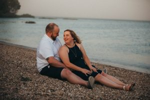 Engagement photos in nature | Plus-sized engagement photography Los Angeles