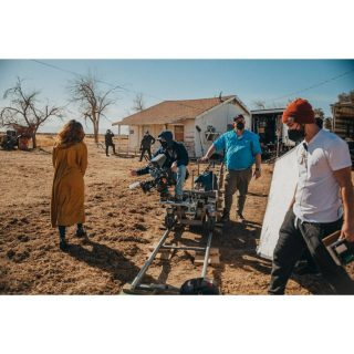 1.9.21 On set with an awesome group of people! #bts #behindthescenes #hollywood #redcamera #dollygrip #lancastercalifornia #soundmixer #lectrosonics