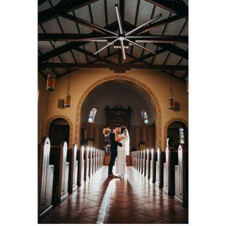 Alyssa + Thomas November 14, 2020 #bride #groom #church #cathedral #wow #backlight #godoxad200 #canon5dmarkiii #canon #couple #cutecouples #covidwedding #kiss #love