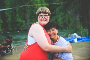 friends portrait photography camping north idaho