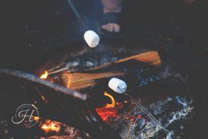 Smores camping food north idaho camping