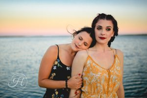 Moody sister family photography Lake Lowell Caldwell Idaho