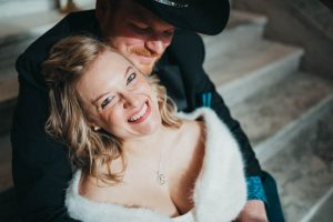 happy bride mountain elopement photography wedding photography los angeles
