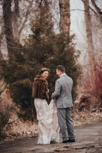 winter wedding pictures Barber Park Event Center Boise Idaho Wedding photographer